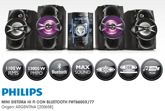 Equipo de audio Philips oferta