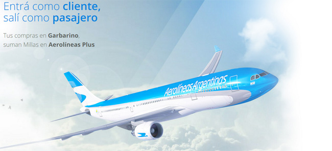 Aerolineas Plus Garbarino