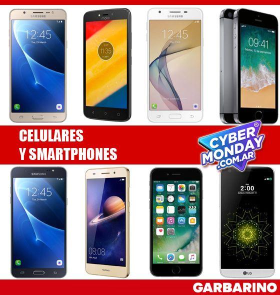 Garbarino celulares Cyber Monday smartphones