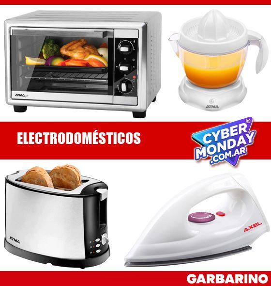 Electrodomesticos Cyber Monday Garbarino