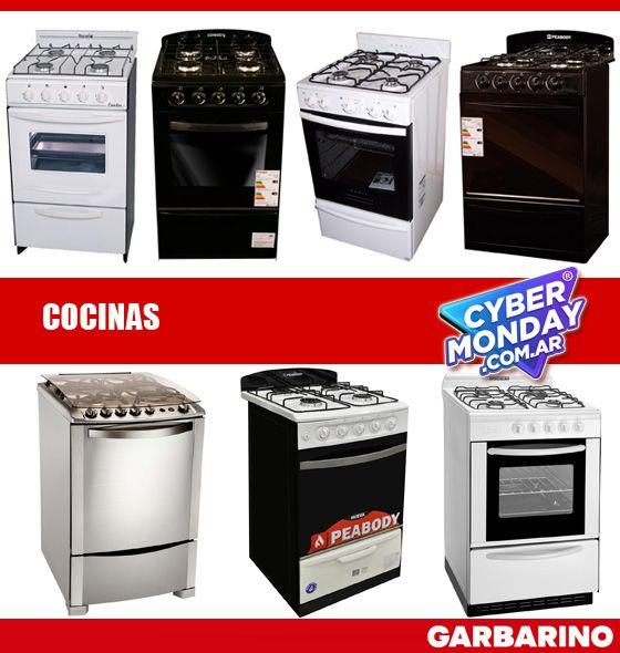 Cyber Monday cocinas Garbarino