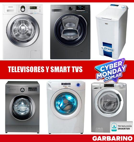 Garbarino lavarropas CyberMonday Secarropas