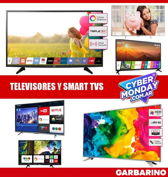 Smart tv Garbarino televisores
