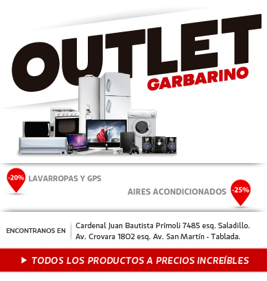Garbarino outlet dirección