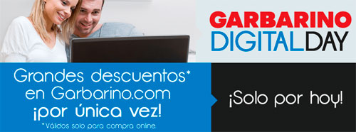 Ofertas Garbarino en su Digital Day 2013