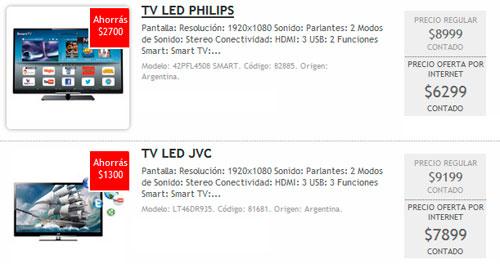 Dos televisores en oferta