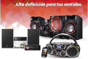 Ofertas de audio y equipos de sonido