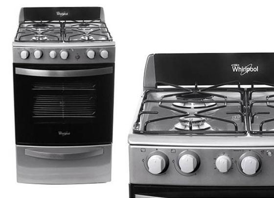 Cocina Whirlpool WFX56DG a gas Garbarino