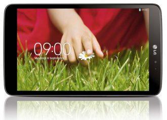LG G Pad tablet negra