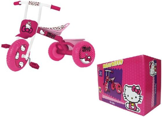 Encançtador Triciclo Hello Kitty