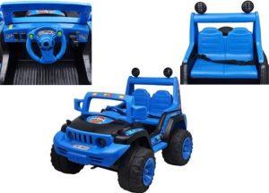 Gran Jeep para los pequeños.