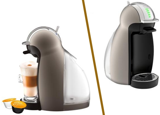 Moderna Cafetera Moulinex