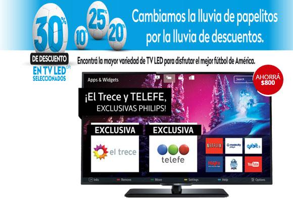 TV LED Negro