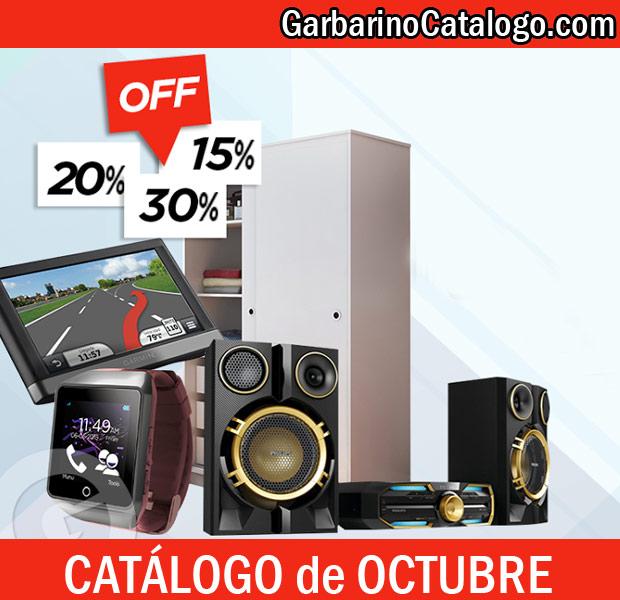 Ofertas de octubre Garbarino
