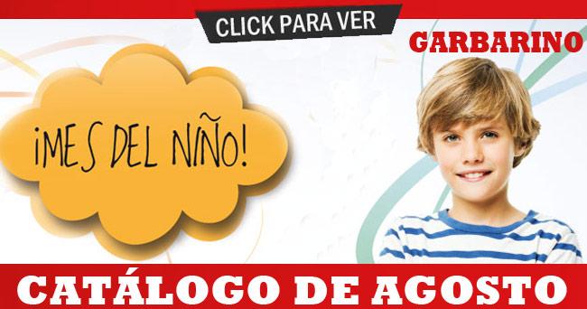 Catálogo Garbarino Agosto
