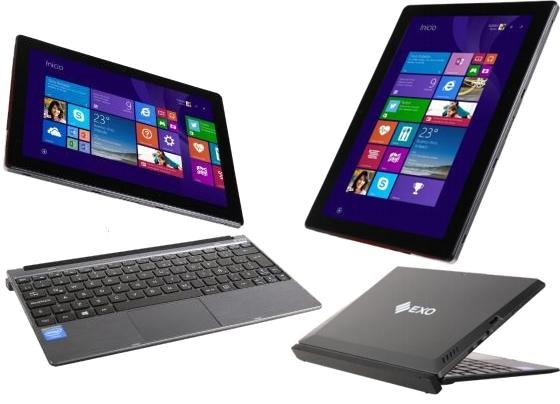 Tablet y notebook al mismo tiempo. Sistema 2 en 1