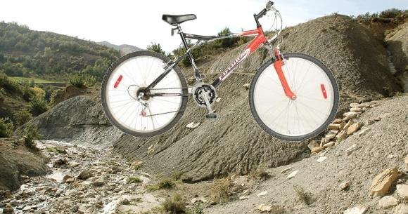 Bicicleta con cambios rodado 26