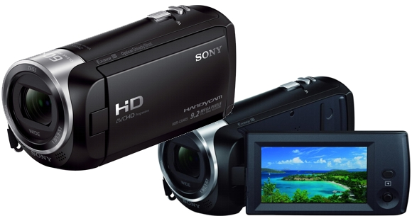 Cámara de Video SONY con tecnología Full HD