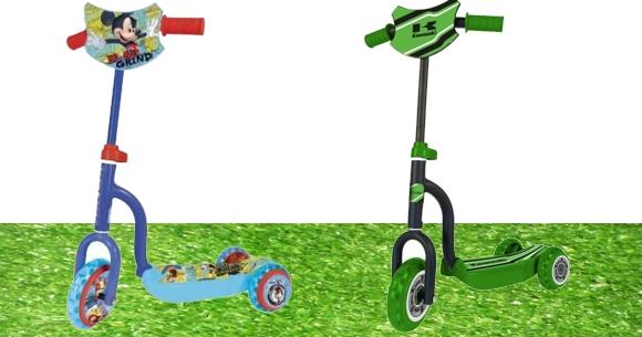Monopatín scooter kawasaki