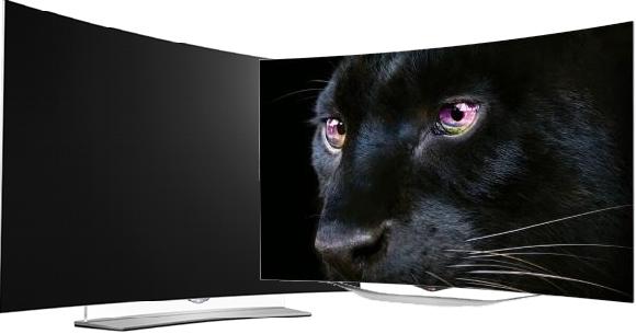 Televisor LED Pantalla Curva de 55 pulgadas Marca LG