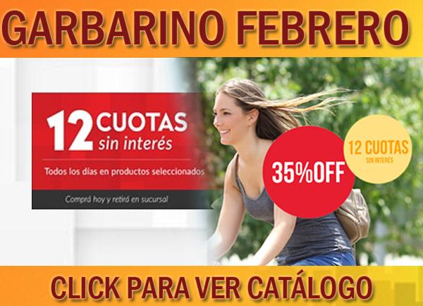 Garbarino febrero ofertas catalogo 2017