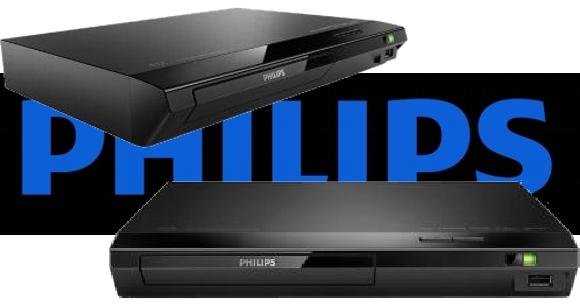 Reproductor de DVDs y Blu Ray Philiops