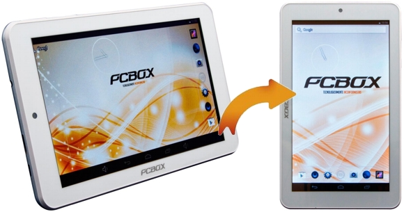 Tablet PCBOX de 7 pulgadas