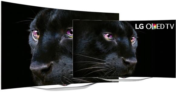 Televisor de 55 pulgadas pantalla curva