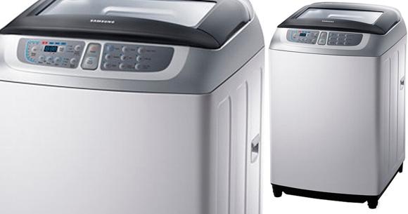 Lavarropas Automático Samsung con capacidad para 8 Kg.