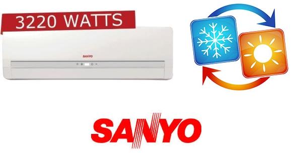 Aire Acondicionado Frío Calor Sanyo