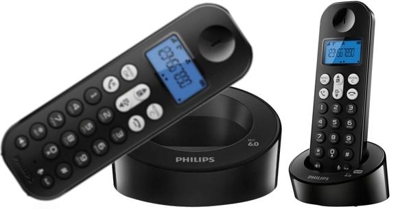 Teléfono para línea Fija, inalámbrico de la marca Philips