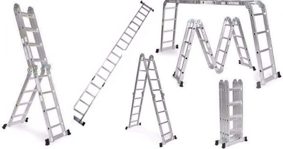 Escalera multifunción segura y práctica