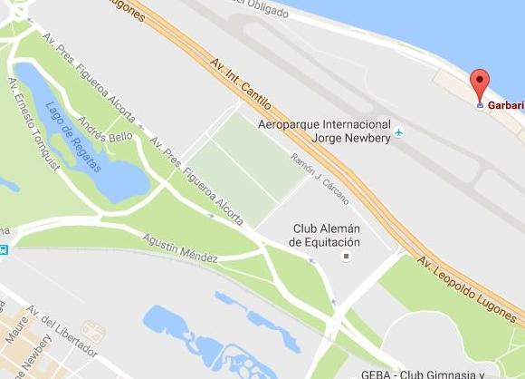 Garbarino Aeroparque dirección