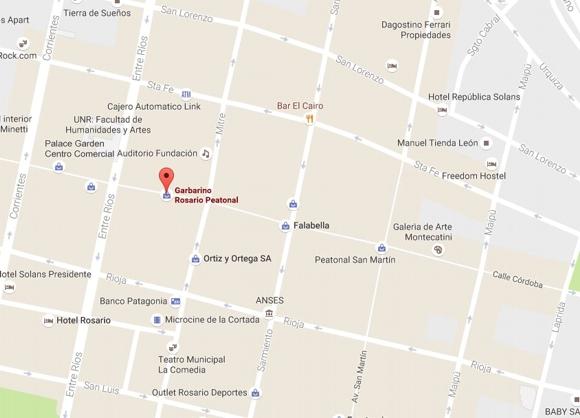 Garbarino  en Rosario en Peatonal Córdoba
