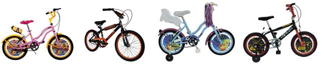 Bicletas para niños y niñas