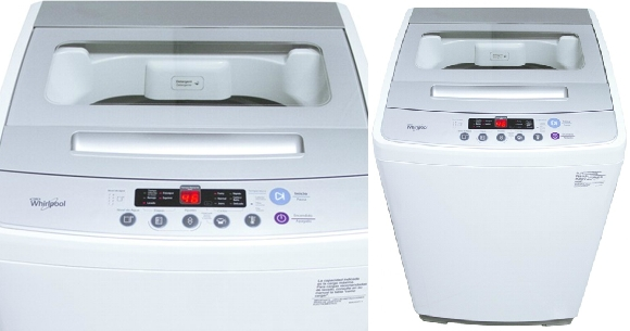 lavarropas Whirlpool carga superior