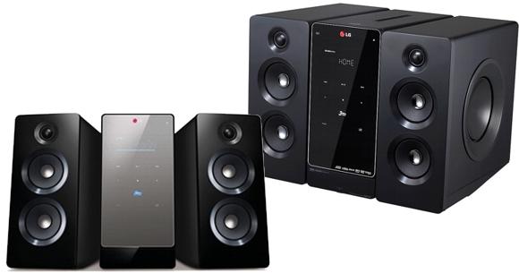 los mejores equipos de música Microcomponente LG