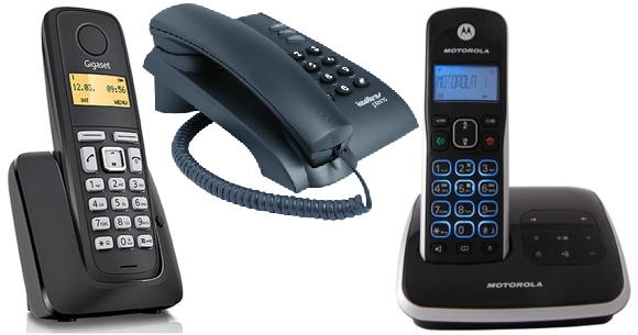 tipos de teléfonos de línea