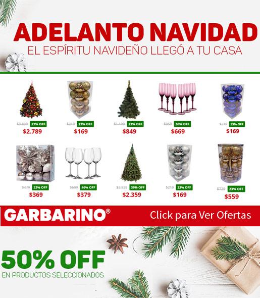 Ofertas de Garbarino adornos y arbolitos Navideños