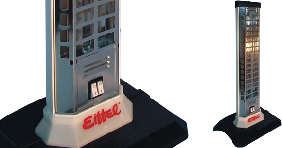 Estufa a cuarzo Eiffel E-301 entre ofertas estufas eléctricas