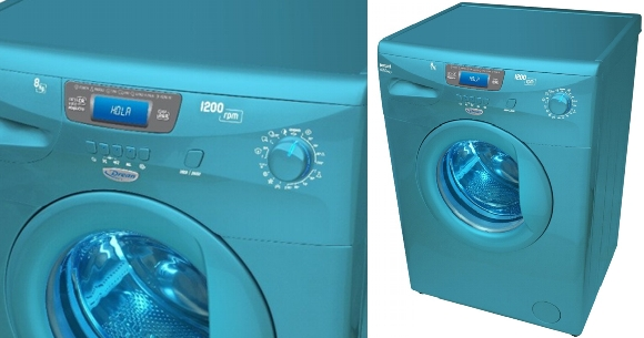 lavarropas autómático drean blue