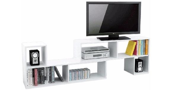 Mueble para tv y equipo de sonido en garbarino for Muebles para televisor y equipo de sonido