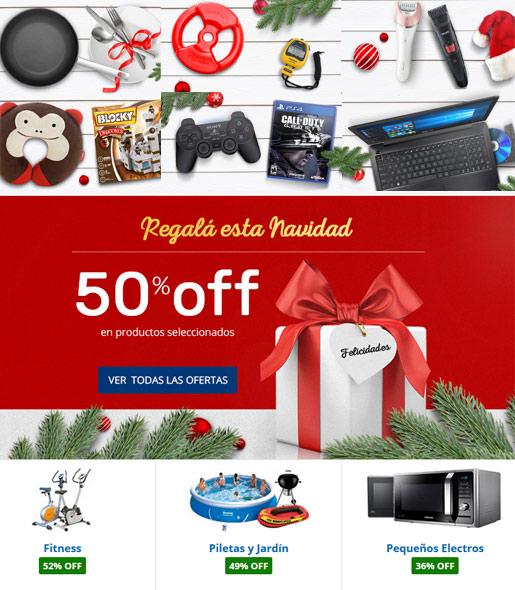 Comprar ofertas Navidad Garbarino