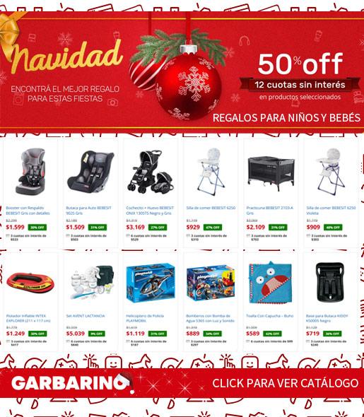 Comprar regalos en Garbarino