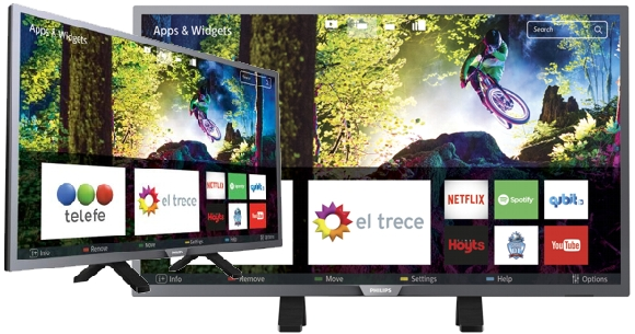 Televisores hd smart TV Philips 32 pulgadas