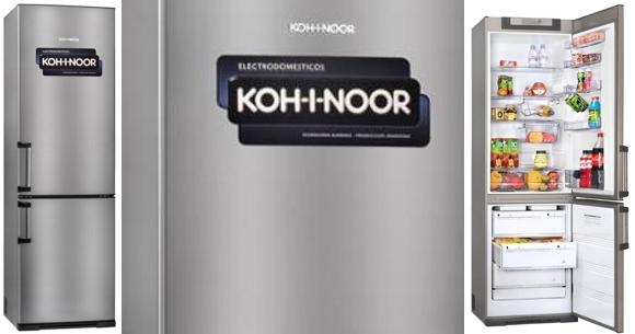 Garbarino heladeras Kohinoor con freezer