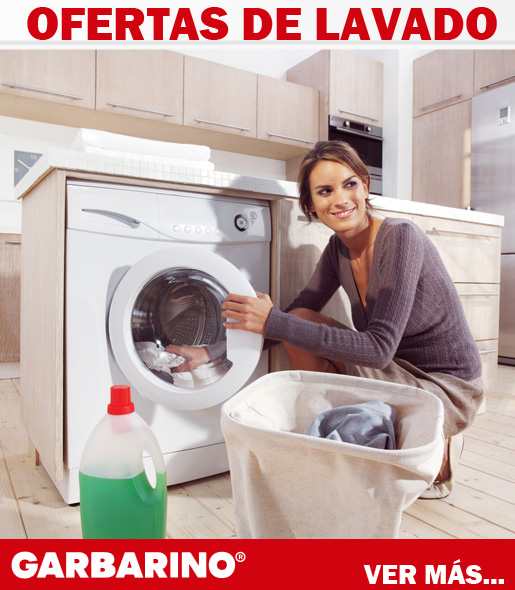 Garbarino lavarropas descuentos