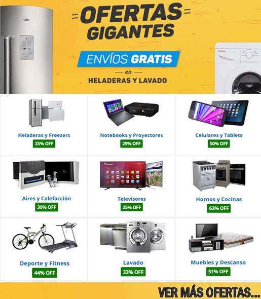 Heladeras Garbarino lavadoras
