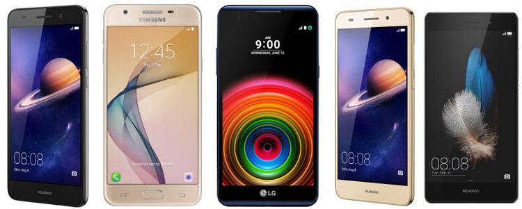 Smartphones Garbarino celulares