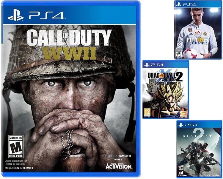 Mejores juegos PS4 en Garbarino